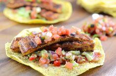 Vegan Grilled Tofu Tacos