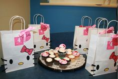 party favors, favor bags, gift bags, hello kitti, birthday parties, hello kitty birthday, goody bags, goodie bags, kitty party