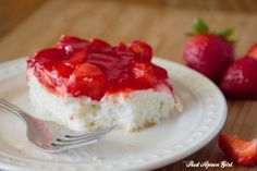 Cream Cheese Strawberry Delight. I always get asked for this recipe!