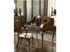 Shop for Fine Furniture Design and Mkt New Bedford Lady's Desk, 1020-925, and other Home Office Desks at Goods Home Furnishings in North Carolina Discount Furniture Stores. Find the encouragement to be productive in the fashionable atmosphere provided by this desk.  The clean combination of looks and utility of this desk provide an attractive workspace for getting things done efficiently.