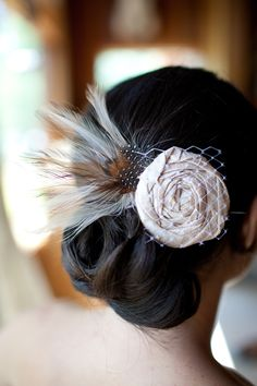 Hair Accessory http://etsy.com/shop/BellaSorellaCouture, Photography by larissacleveland.com