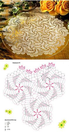 Lace napkins - Marianna Lara - Álbuns da web do Picasa lace napkin, pattern, crochet motif, spiral motif, knit, crochet doilies, stun swirl, crochet tablecloth