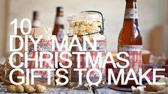DIY 'man' Christmas gifts