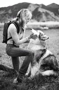guys with puppies, girl and her dog photography, friends hiking, photography animal, girl with dog photography
