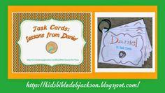 Daniel task cards