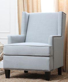 Light Blue Loretta Armchair