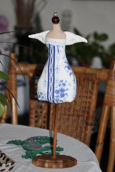 Jewelry Mannequin Angel Stand Display/Pin Cushion by sherimusum, $25.00