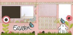 Easter - Girl Page Kit