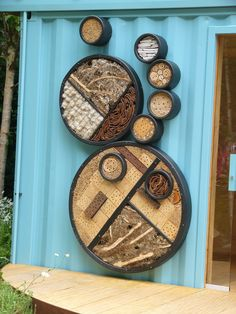 hotel inspir, chelsea flower show, gardens, insect hotel, hotel de, garden idea, homes, flowers, de insecto