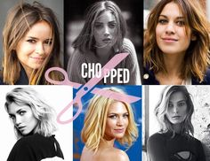 chopped hair inspiration
