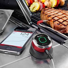 A smart thermometer that is small enough to fit in your pocket is a trusty sidekick for outdoor grilling. | $39.99