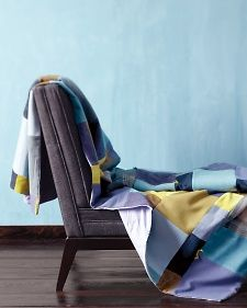Patchwork Throw | Step-by-Step | DIY Craft How To's and Instructions| Martha Stewart
