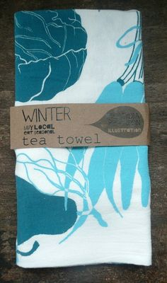 Winter Towel by claudiagpearson