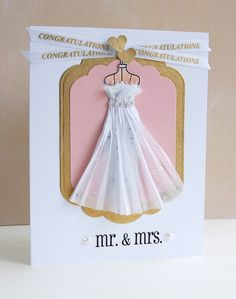 Cool dress on this card!