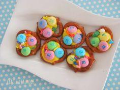 Crafts a la mode : Easter Pretzel Candies how to