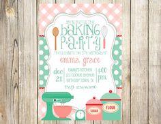 Bake+Birthday+Party+Invitation+by+EmmyJosParties+on+Etsy,+$12.00