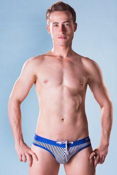 Dietz - Slip Swimsuit San Marino - Front - www.johnnybeachbuns.com