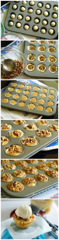 Pecan Chewies - With or without the ice cream, I beg you to try these for the men in your…
