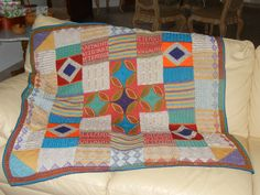 Debbie Abrahams Mystery Blanket for 2011
