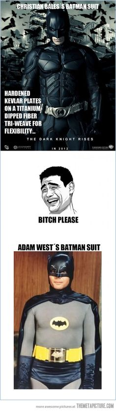 Batman's suit