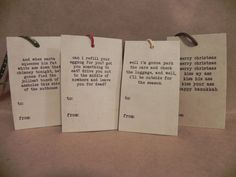 Making these for my family's Christmas presents. Quotes from Christmas Vacation.