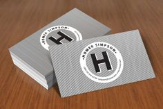 Check out Lines Business Card by https://twitter.com/Itembridge on Creative Market