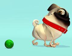 Coco la pug