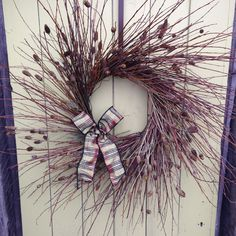 willow twig wreath w