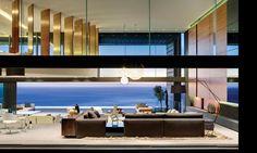 modern architecture - saota - nettleton 199 - clifton - south africa - living room