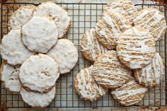 Old Fashioned Iced Oatmeal Cookies, traditional and gluten free recipes included