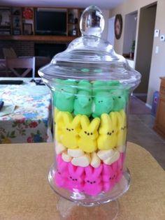 Easter Peeps decor