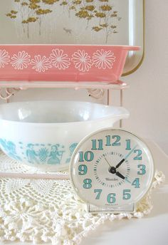 dottie angel.  Interesting.  I have that very same clock!