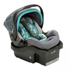 The onBoard 35 Air+ Infant Car Seat is a rear-facing car seat for babies from four to 35 pounds.