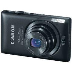 #4: Canon PowerShot ELPH 300 HS 12.1 MP Digital Camera (Black).