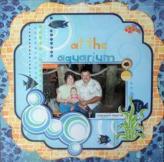 Chillin' at the aquarium - Scrapbook.com