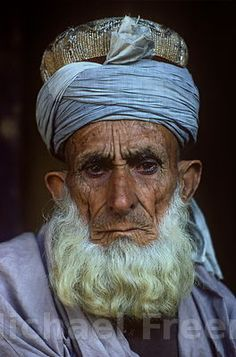 AN old man belong from the northern side of PAKISTAN
