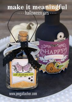In-site-full: Make It Meaningful: 15 Minute Halloween Decor Jars