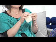 ▶ Lavora a maglia con Emma Fassio - Ferri accorciati a legaccio - YouTube