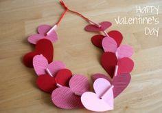 Tutorial:  Valentine Heart Leis