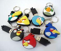 Angry Birds Cartoon Unique Flash Drive