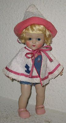 Vintage Boy Ginny Doll In Tagged Outfit
