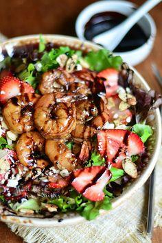 Balsamic Shrimp Sala