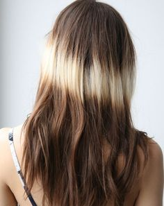 'Splashlights'.-  El secreto de esta tendencia es crear el efecto de un haz de luz incidiendo sobre un punto determinado del pelo. Esta nueva técnica de coloración destaca en Instagram y aspira a desbancar a las mechas californianas