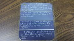 Middle school writing idea for early finishers or centers.