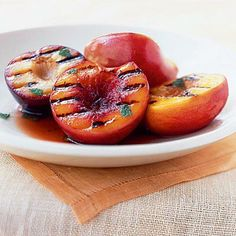 Healthy Grilled Stone Fruit Antipasto | CookingLight.com