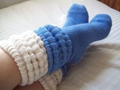 slouch socks LAYERED!