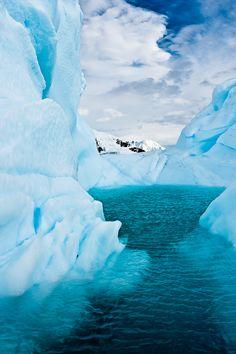 Iceberg Lagoon, Antarctica