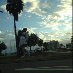 Statue in Sarasota....love this!