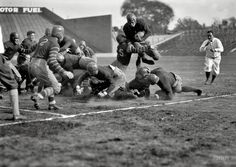 """October 25, 1924. Washington, D.C. """"Earl Goodwin, Georgetown-Bucknell."""" The Bisons spanked the Hilltoppers 14-6. National Photo Co."""
