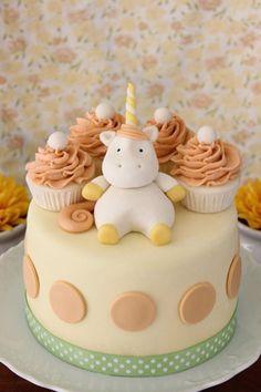 Adorable Children's Birthday Cake